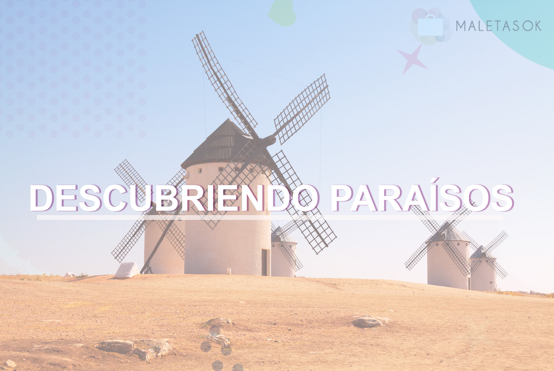 Descubriendo paraísos título