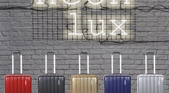 maletas de viaje neon lux de gladiator