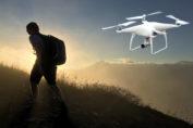 mochila drone